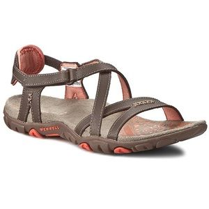 Merrell Sandspur Coral Performance Leather Sandals